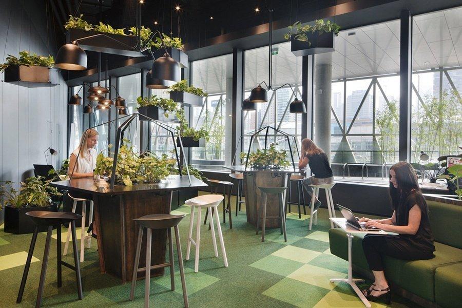 Tendencias en diseño de oficinas 2019