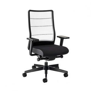 silla airpad 2.0 respaldo blanco asiento negro