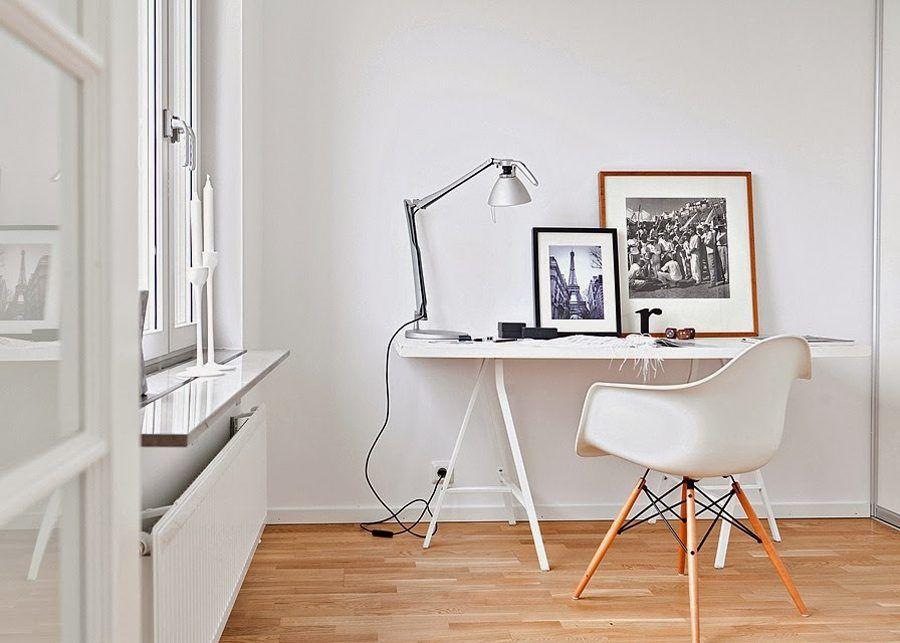 Silla nordic con Brazos Home Office