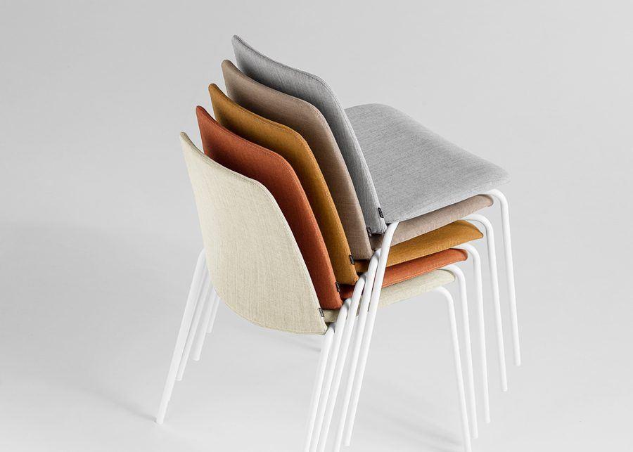 silla unnia tapiz apilable