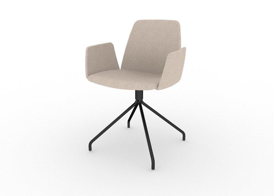 Silla unnia tapiz giratoria ofival eshop mobiliario de for Silla unnia inclass