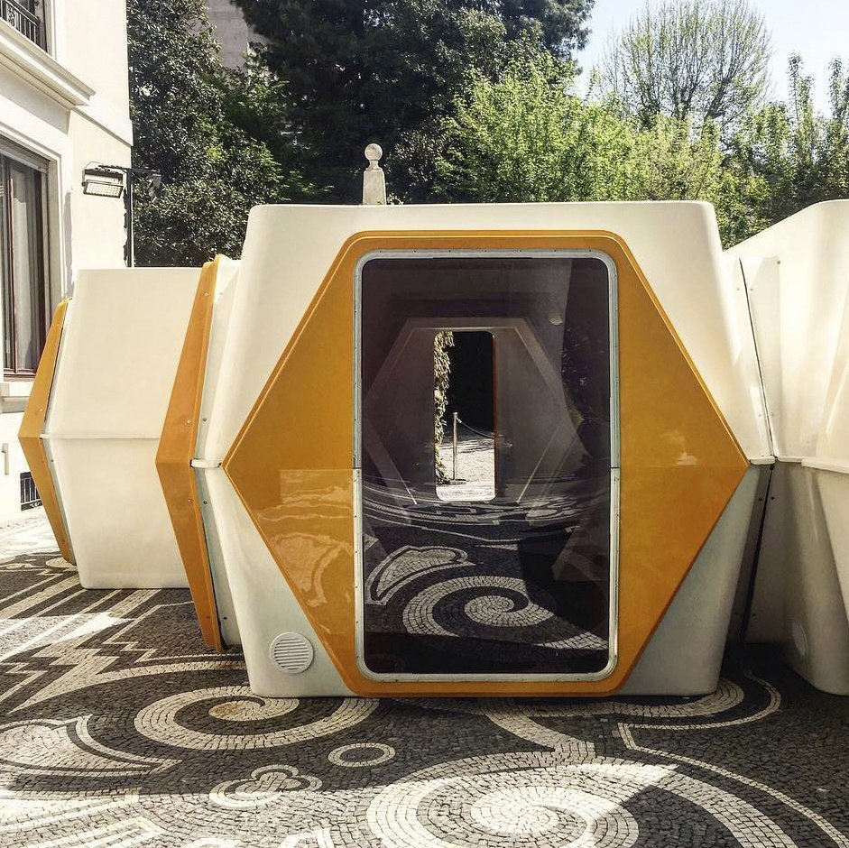 hexacube by Greek Architect Georges Candillis