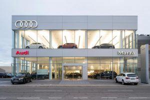 instalaciones Audi Marza castellón fachada mobiliario ofival