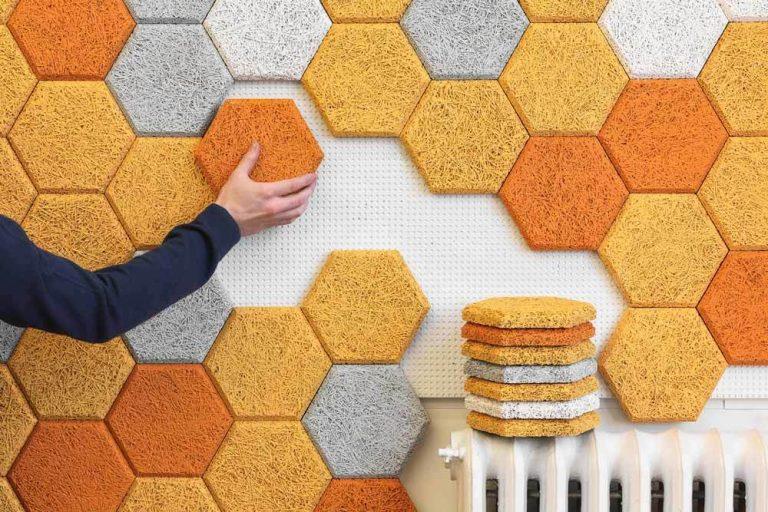 nuevos materiales sostenibles para insonorizar la oficina