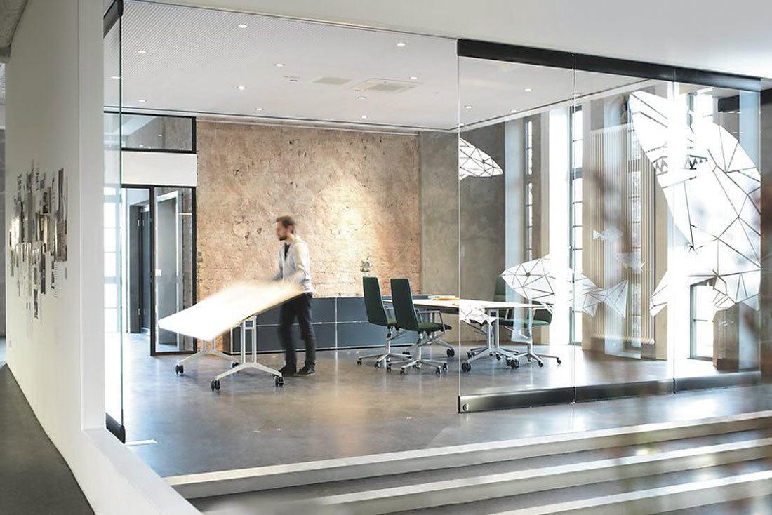 Sala de reuniones flexible
