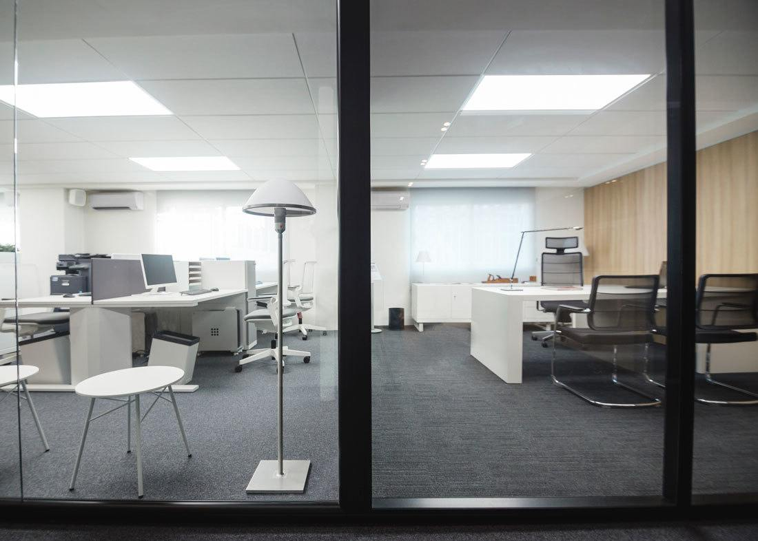Showroom Mampara de oficina