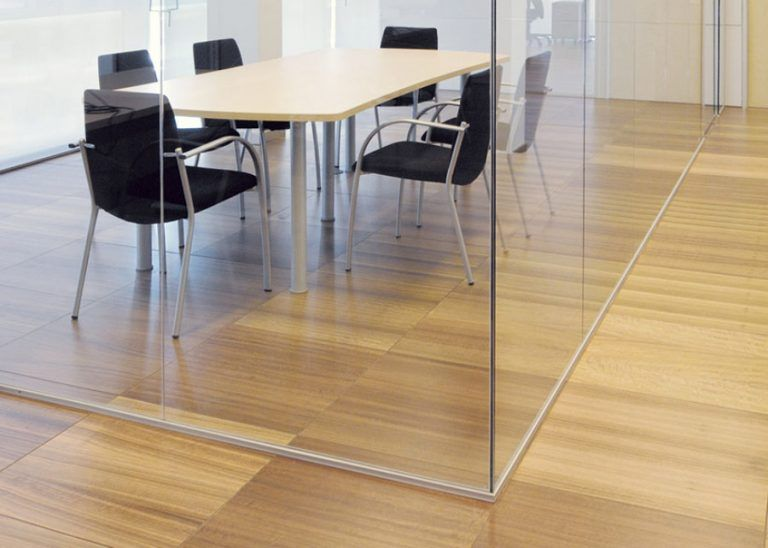 Suelo técnico para oficinas madera