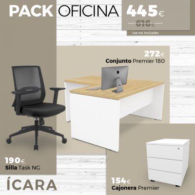 Pack Oficina ÍCARA