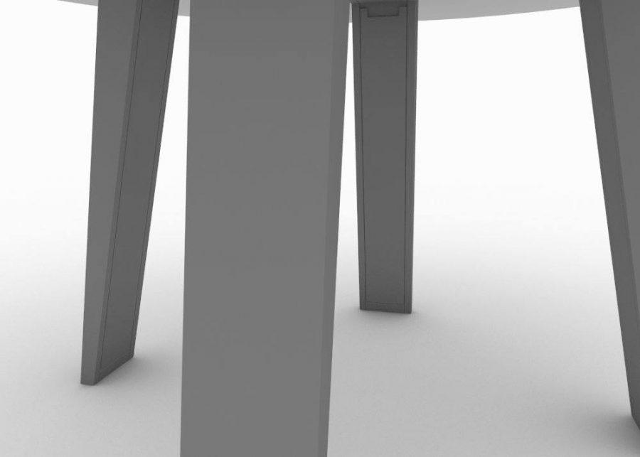 Mesa de reuniones Mahia patas
