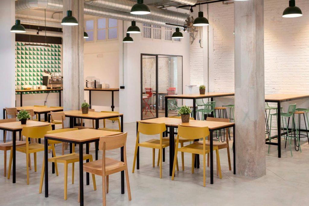 Cafetería Wayco coworking Ruzafa
