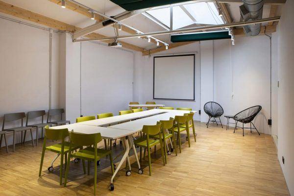 Sala formación Wayco coworking Ruzafa