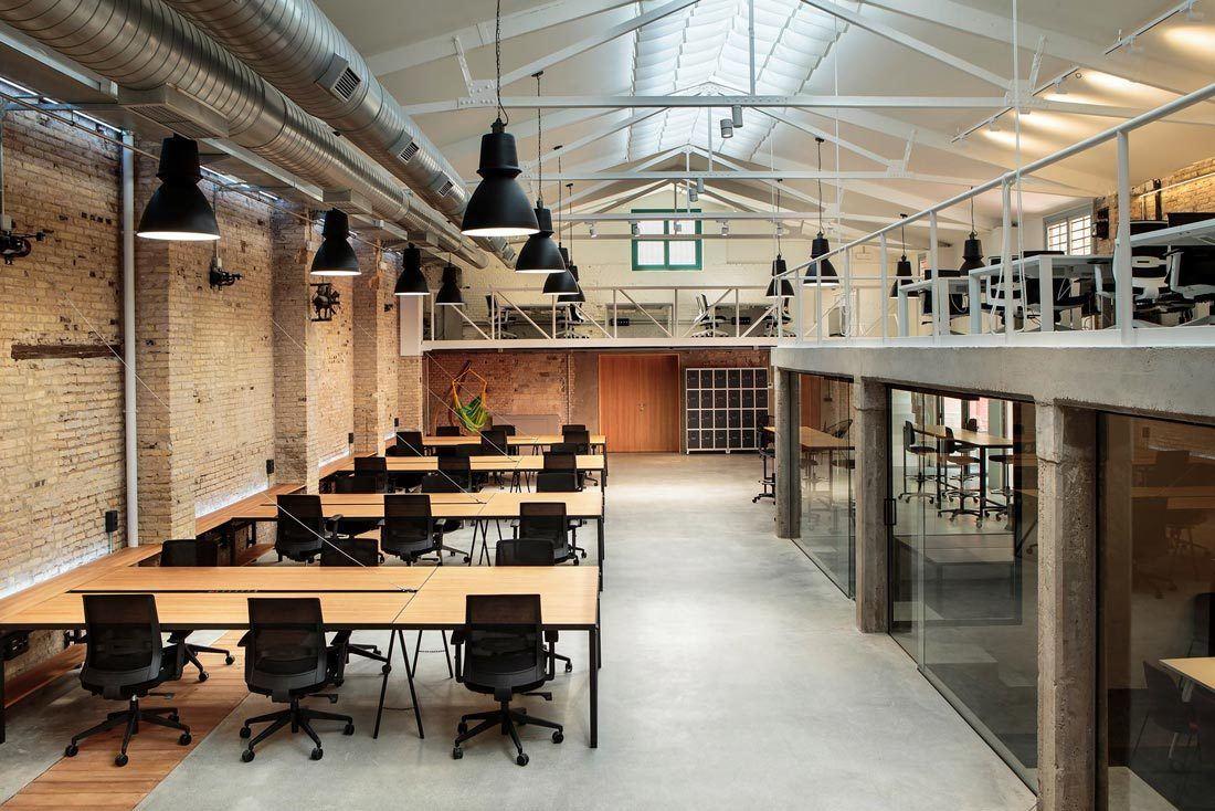 Zona trabajo Wayco coworking Ruzafa