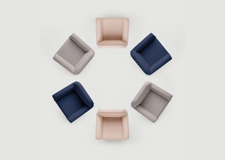 Mobboli sofá Japan colors