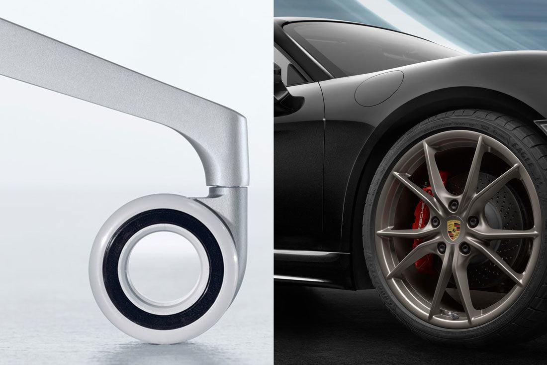 Las ruedas son como los neumáticos