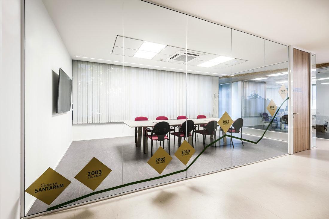 Sala de reuniones instalaciones Font Salem