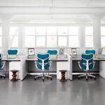 Oficina operativa con la silla mirra2