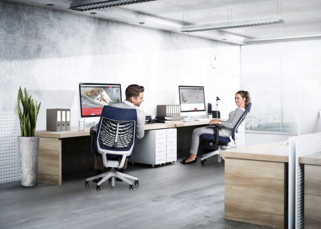 Silla JOYCEis3 de oficina operativa y semidirección