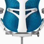 Detalle soporte lumbar regulable silla Mirra2