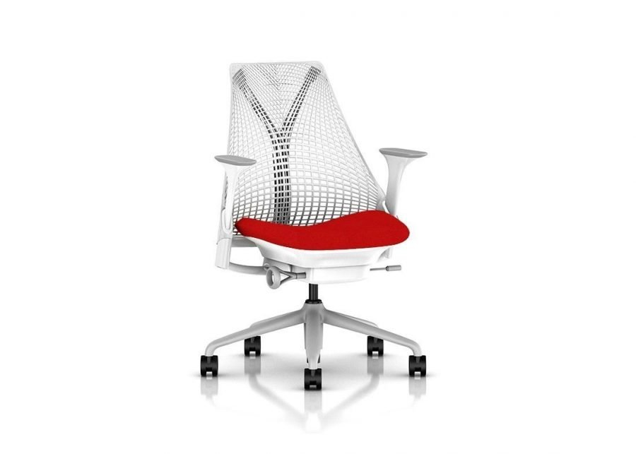 Silla Sayl White Red