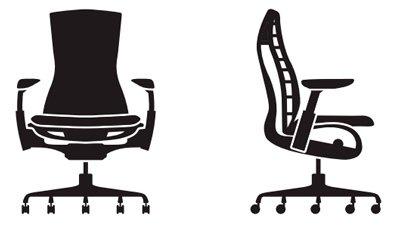 Medidas de la silla Embody