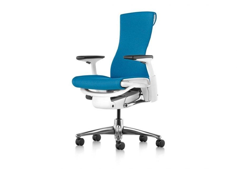 Base de aluminio pulido silla Embody