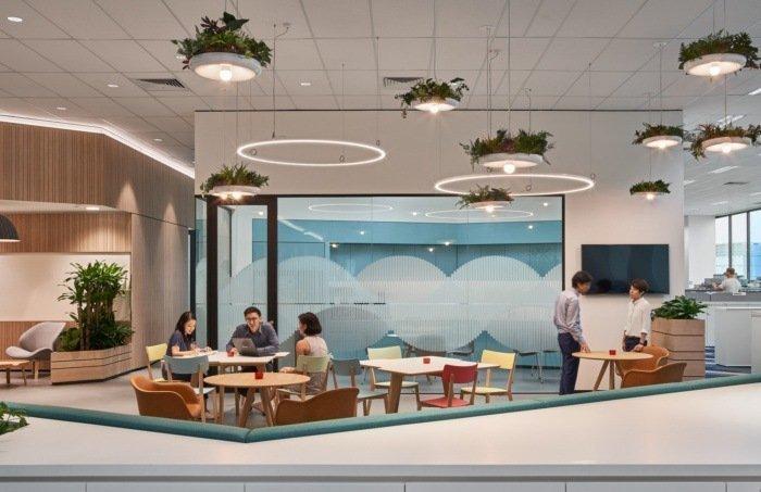 espacios comunes oficinas sivantos