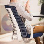 Flexibilidad respaldo silla PUREis3