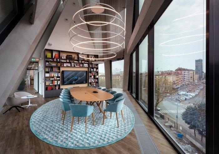 sala reuniones direccional microsoft house