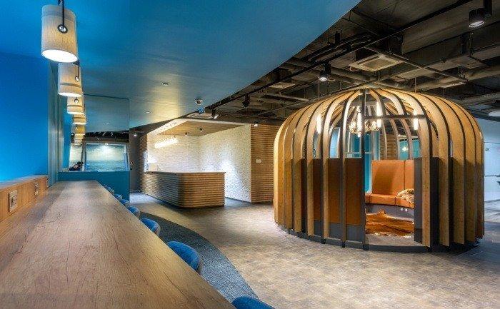 zonas y espacios comunes oficina sberbank