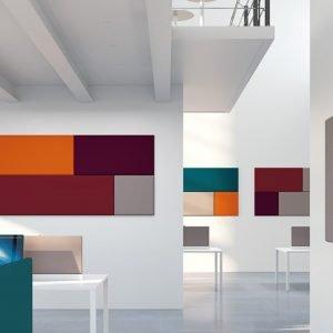 Paneles acústicos Addende Mural