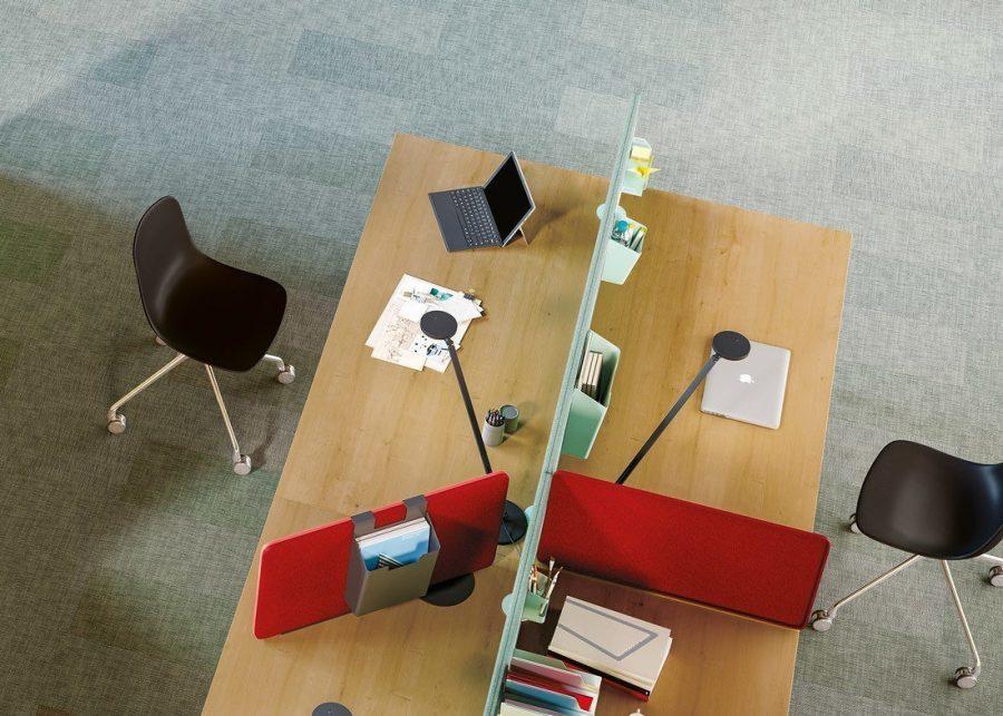 Paneles acústicos móviles de oficina