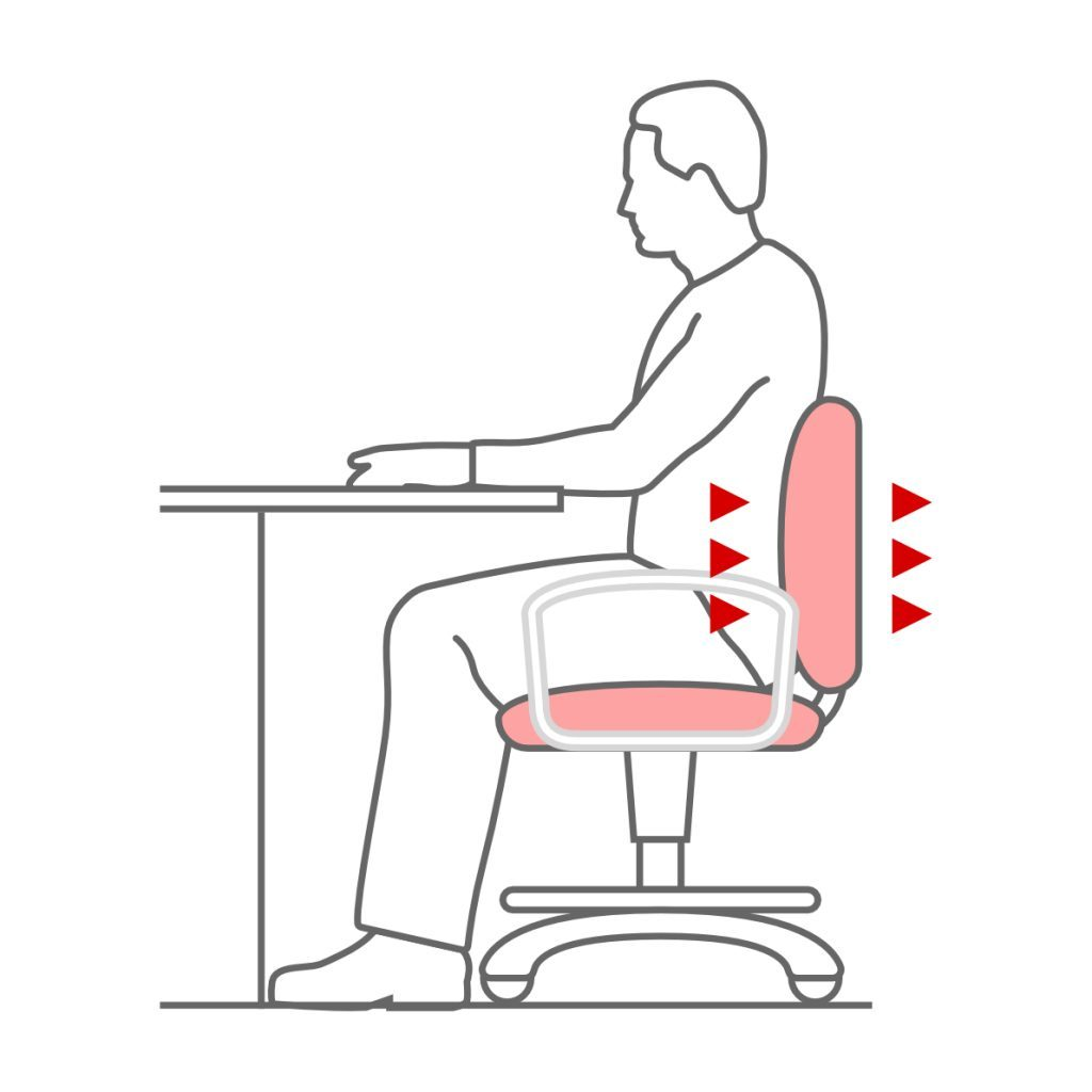 Materiales transpirables en respaldo y asiento