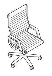 Esquema sillón FS piel Executive