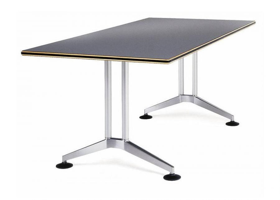 Mesa Logon Semi-dirección aluminio