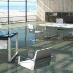 Mesa oxygen luxe reuniones blanco