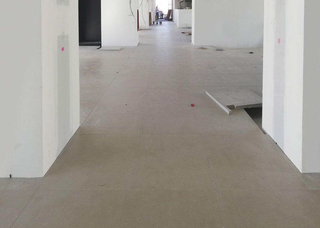 instalación suelo técnico