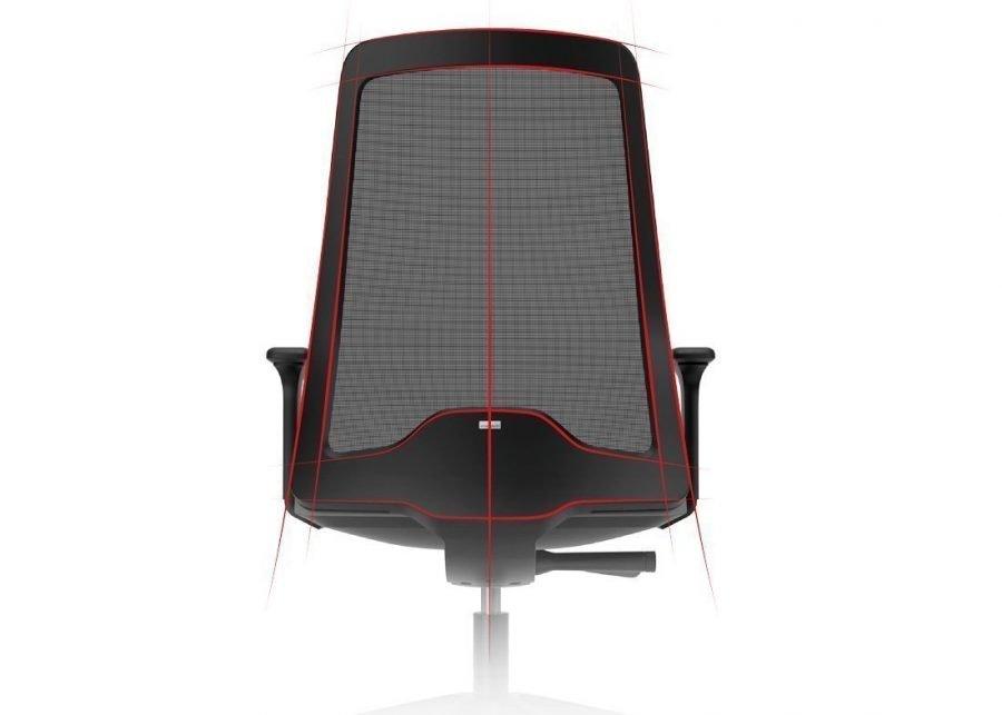 silla EVERYis1 EV251 Negro diseño ergonomico