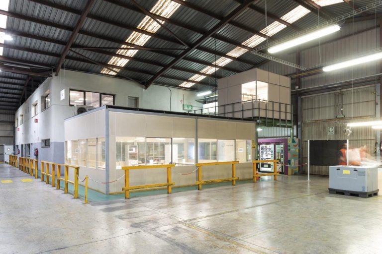 mampara e50 tecnico sp systems