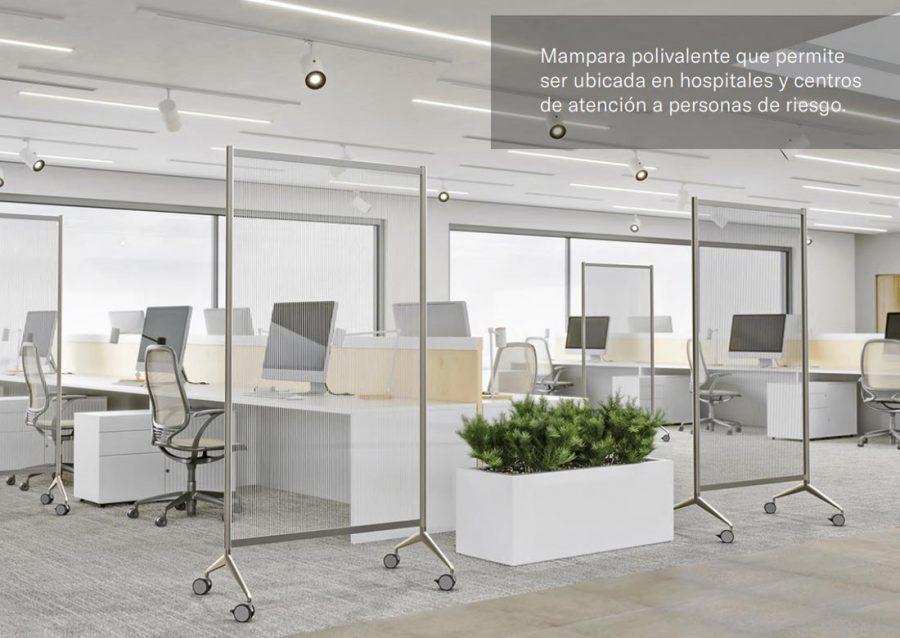 Mampara Ten Limit transparente Planning