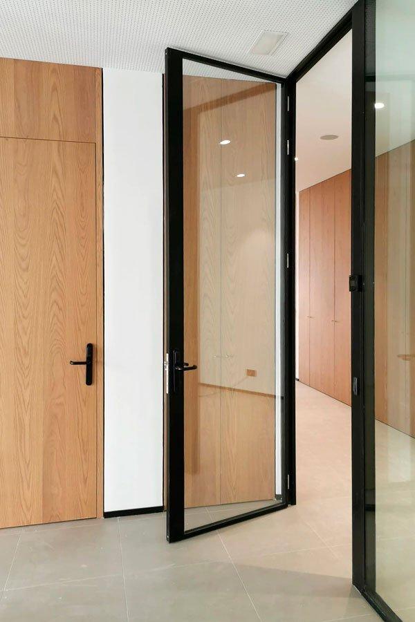 puertas mampara E80 de oficina
