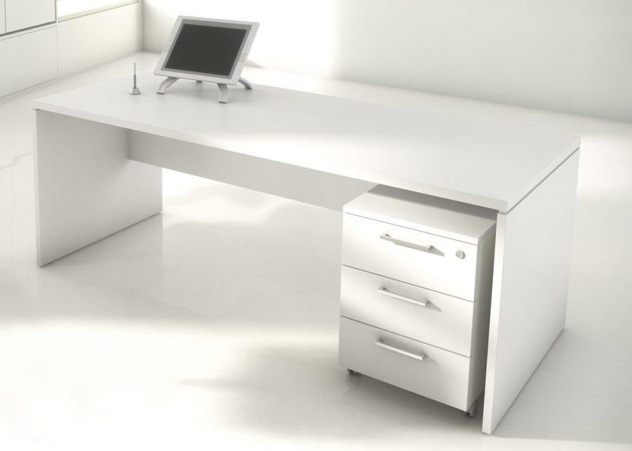 mesa pano 60 acabado blanco