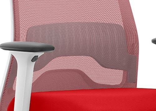 Soporte lumbar gris silla VERYis1 Colors