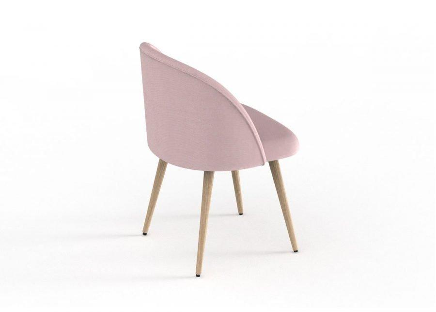 silla chelsea patas madera vista trasera