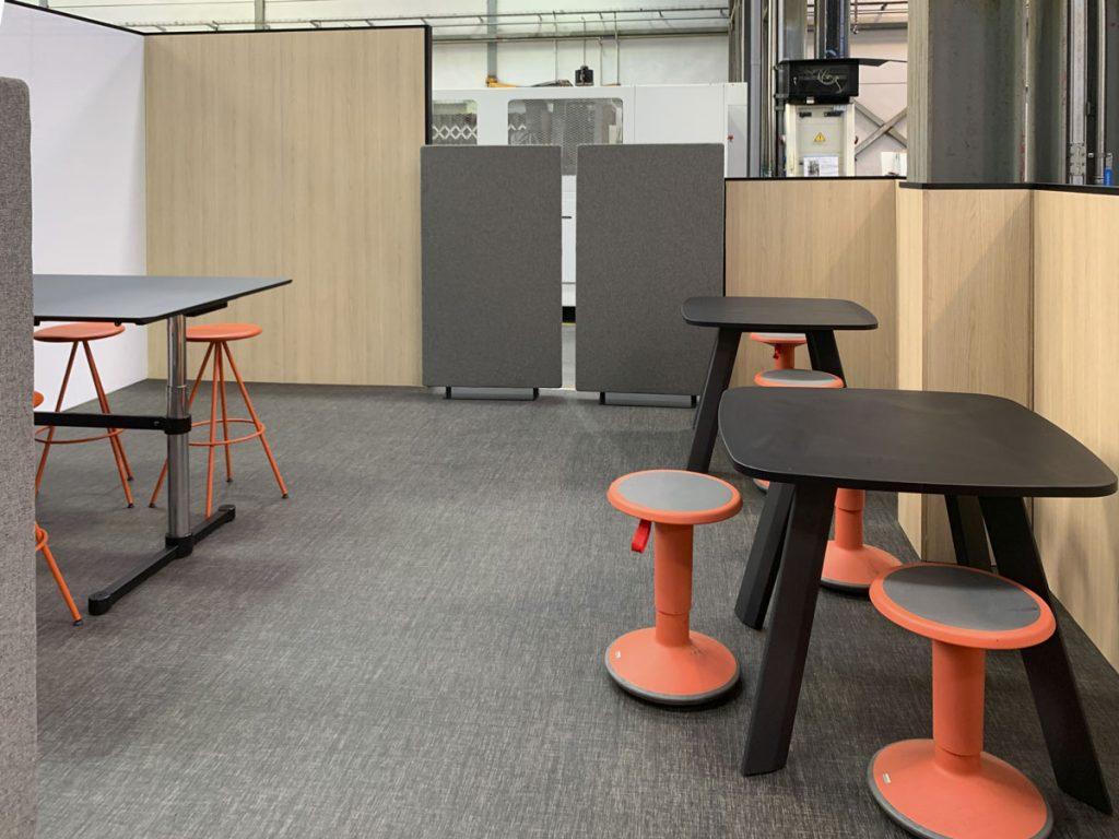 espacio think up area instalaciones lemar