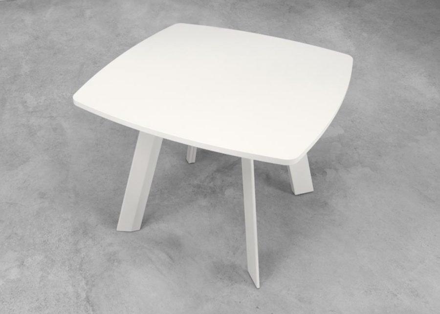 mesa ECO reunión cuadrada color blanco