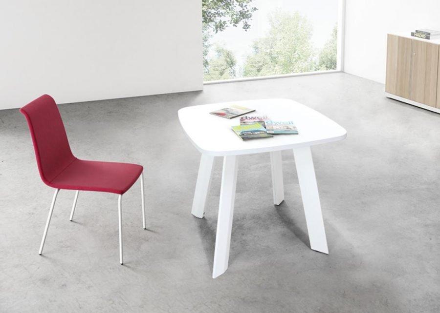 mesa ECO reunión cuadrada oficina