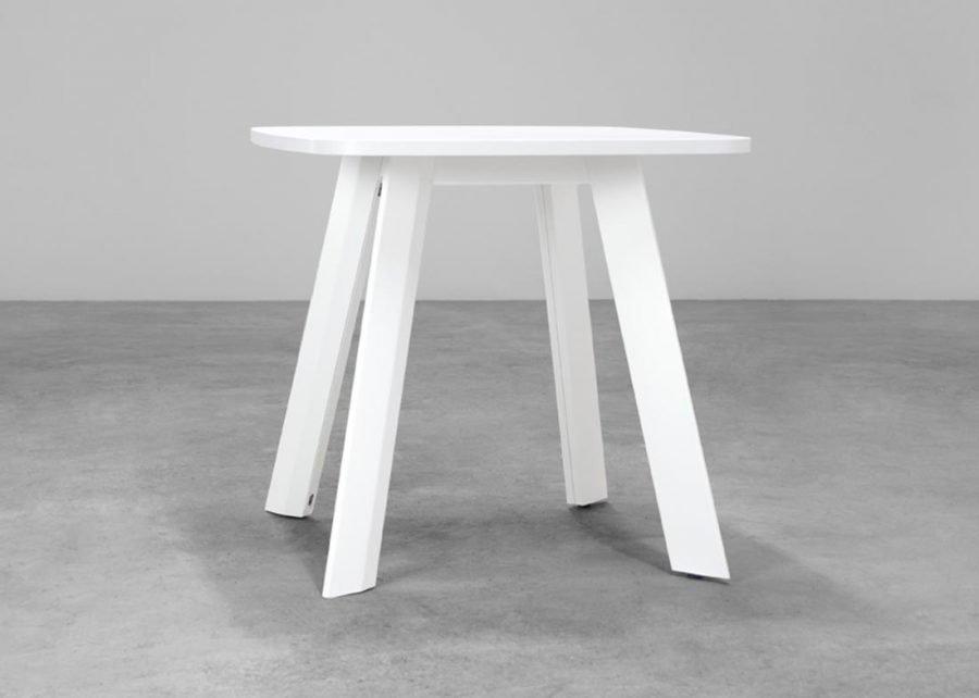 mesa ECO reunión cuadrada estructura 4 patas