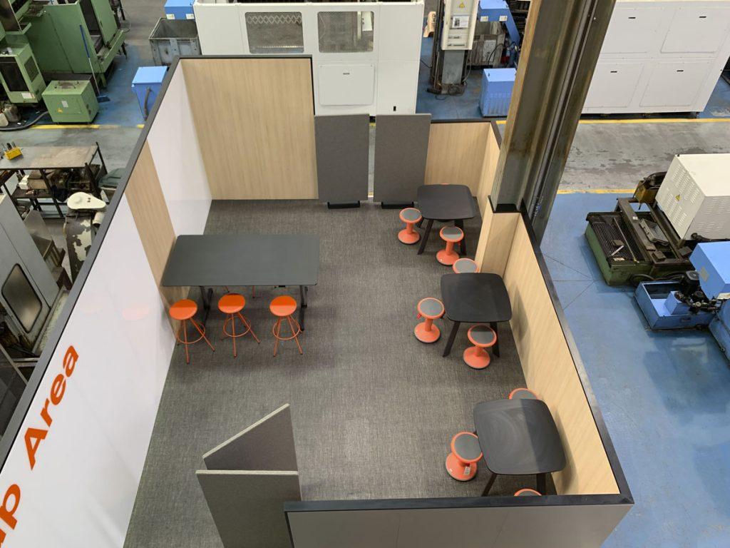 think up area en instalaciones lemar