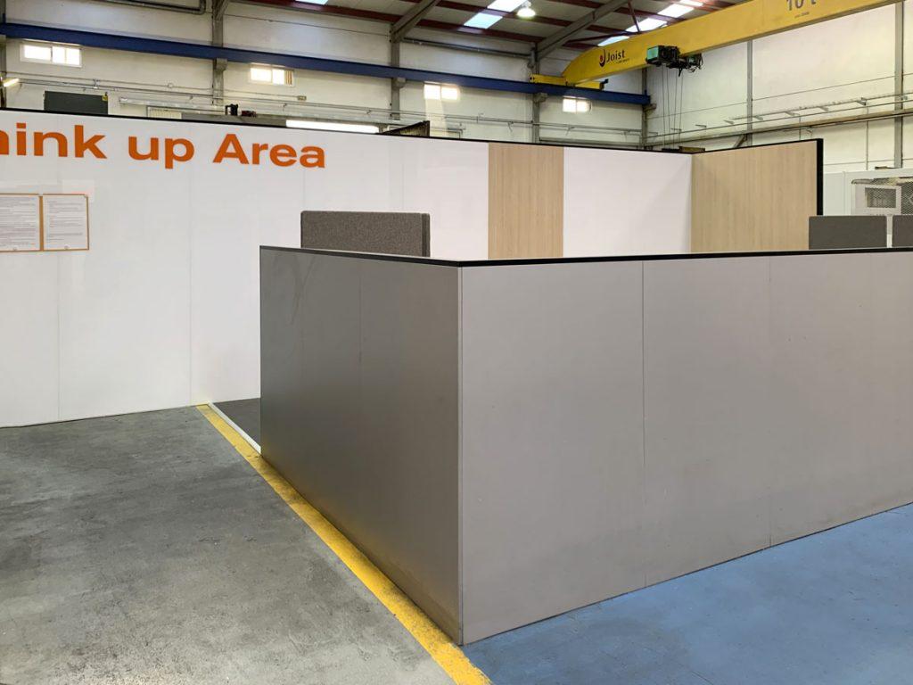 think up area mampara e80 instalaciones lemar