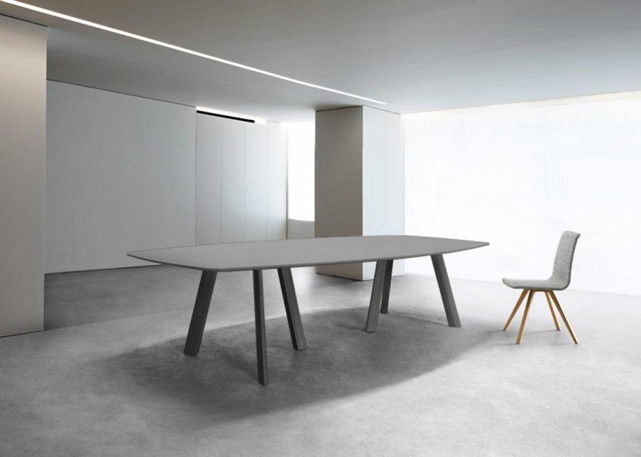 mesa eco meeting elíptica de Famo aluminio